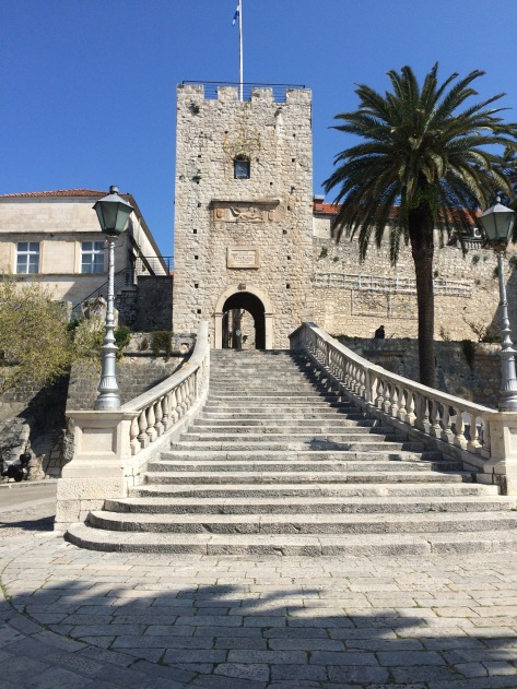 Entrance to Korčula town