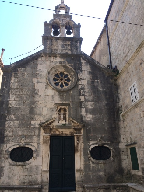 One of the Churches in the walled town